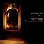 CD-cover Memnon-Sound Portraits of Ibsen Characters by Ruth Wilhelmine Meyer and Helge Lien